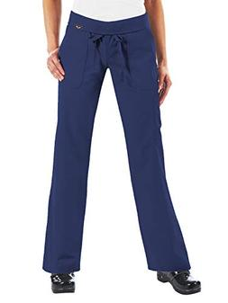 KOI Women's Morgan Ultra Comfy Yoga-Style Cargo Scrub Pants