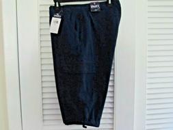 WOMEN'S NAVY BLUE CAPRI PANTS - CHAPS CARGO CAPRIS SIZE 14P