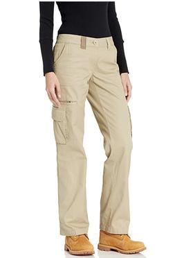 Dickies Women's Relaxed Cargo Pant Rinsed Desert Sand 8