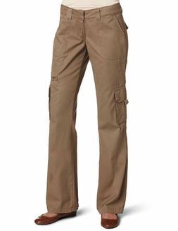 Dickies Women's Relaxed Cargo Pant Rinsed Pebble Brown 18/Re