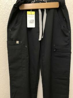 FIGS Women's Scrub Pants Torbeck Cargo Pant NWT Black XS