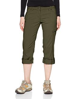 prAna Women's Short Inseam Hallena Pants, 4, Cargo Green