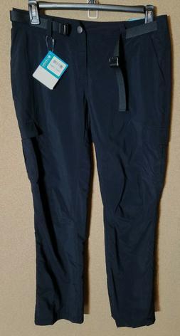 Women's Columbia Size 12 Cargo Pants Cascades Explorer Black