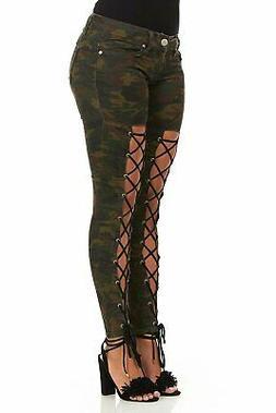 Cover Girl Women's Skinny Jeans Joggers Cargo Juniors Pants