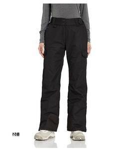 Arctix Women's Snow Sports Insulated Cargo Pants, Black, Sma