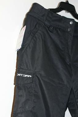 Arctix Women's Snow Sports Insulated Cargo Pants, Black, Lar