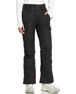 Arctix Women's Snowsport Cargo Pants, Large, Black