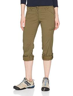 prAna Women's Tall Inseam Hallena Pants, 0, Cargo Green
