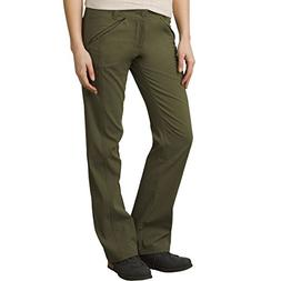prAna Women's Winter Hallena Pants, 6, Cargo Green