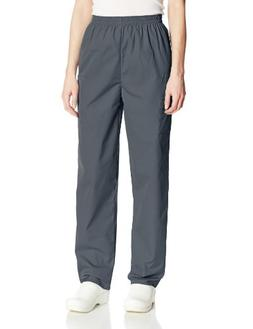 Cherokee Women's Workwear Scrubs Pull-On Cargo Pant, Pewter,