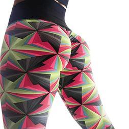 Womens High Waist Leggings Sports Gym Yoga Workout Fitness L