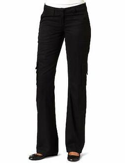 Dickies Womens Pants Black Size 18 Short Relaxed Fit Cargo W
