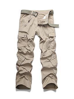OCHENTA Men's Outdoor Woodland Military Cargo Pant #022 Ligh