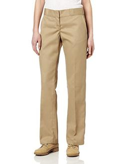 Dickies Women's Original Work Pant with Wrinkle And Stain Re