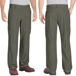 Dickies Work Pants Men Relaxed Fit Straight Leg Ripstop Carg