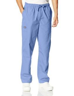 Cherokee Workwear Scrubs Men's Cargo Pant, Ceil, 4X-Large