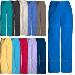 Cherokee Workwear Scrubs Pants Unisex Men, Women Drawstring
