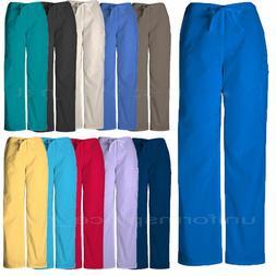 Cherokee Workwear Scurbs Pants Unisex Drawstring Cargo Pants