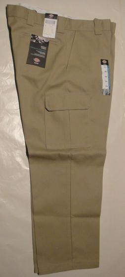 DICKIES WP592 Relaxed Fit Straight Leg Cargo Pants DESERT SA