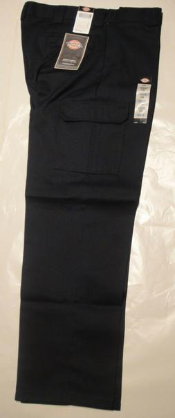 DICKIES WP592 Relaxed Fit Straight Leg Cargo Pants DARK NAVY