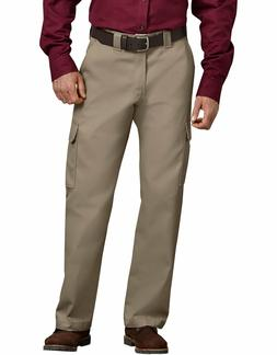 Dickies WP592 Relaxed Fit Straight Leg Cargo Work Pants Khak