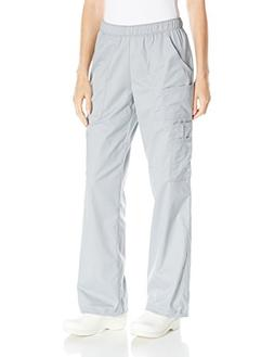 Cherokee Women's Ww Core Stretch Mid Rise Pull Cargo Pant, G