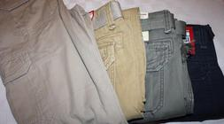 UnionBay Young Men's Cargo Pants w/Belt 100% Cotton NWT For