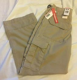 Unionbay Young Mens Size 29 X 30 Cargo Pants Loose Fit Khaki