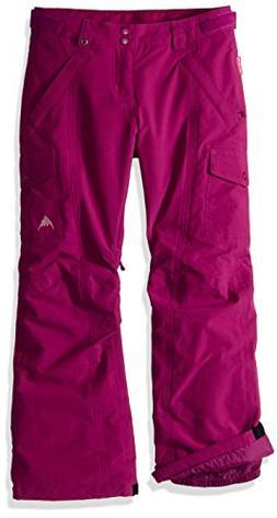 Burton Youth Girls Elite Cargo Pants, Grapeseed, Large
