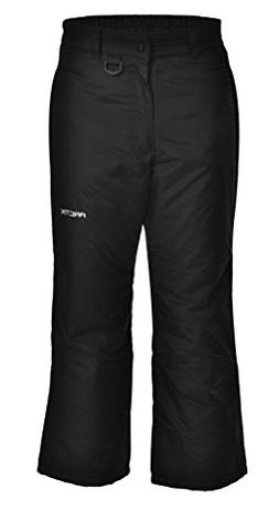 Arctix Youth Snow Pants, Medium, Black