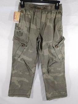 Youth Mossimo Supply Ripstop Cargo Pants Military Army Green